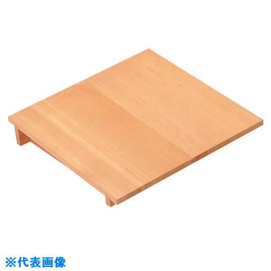 ■TKG 木製 角セイロ用 傾斜蓋(サワラ材) 45cm用〔品番:WSI08045〕[TR-1377143]