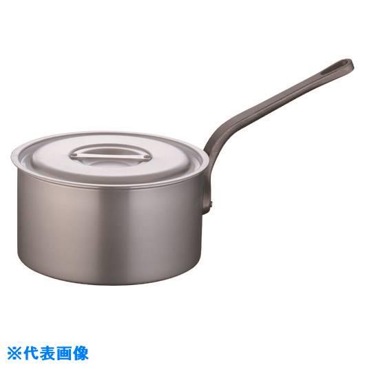 ■TKG 片手深型鍋アルミニウム(アルマイト加工) (目盛付)TKG 27CM  〔品番:AKT8227〕[TR-1378742]