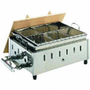■TKG 18-8湯煎式おでん鍋 OY-15 尺5寸 LPガス〔品番:EOD2107〕[TR-1380305]