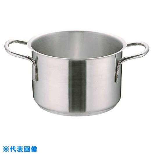 ■TKG ムラノ インダクション18-8半寸胴鍋 (蓋無)40CM  〔品番:AHVA307〕[TR-1383124]