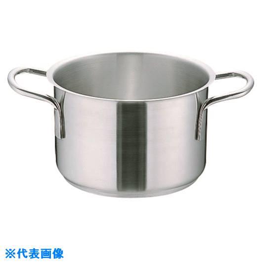 ■TKG ムラノ インダクション18-8半寸胴鍋 (蓋無)45cm〔品番:AHVA308〕[TR-1383136]