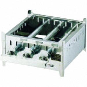 ■TKG SA18-0業務用角蒸器専用ガス台 45cm用 LPガス〔品番:AMS6716〕[TR-1383155]