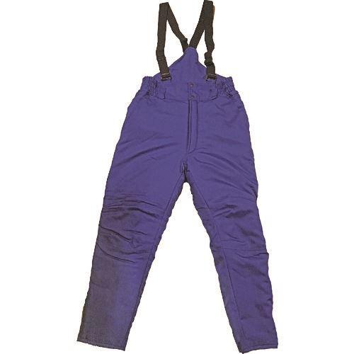 ■サンエス 冷凍倉庫用防寒パンツ ブルー色 Mサイズ〔品番:BO8005-4-M〕[TR-1385350 ]【送料別途お見積り】