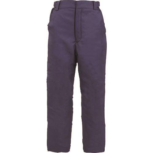 ■サンエス 冷凍倉庫用防寒パンツ ブルー色 XLサイズ〔品番:BO8006-4-XL〕[TR-1386940 ]【送料別途お見積り】