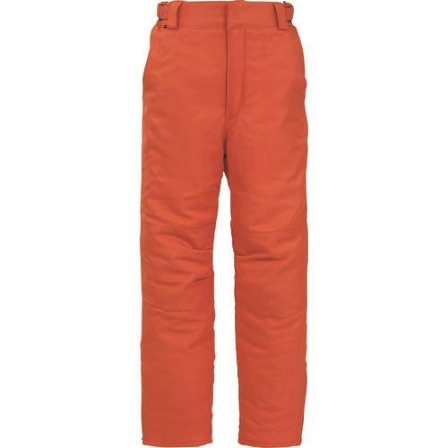 ■サンエス 冷凍倉庫用防寒パンツ オレンジ色 4Lサイズ〔品番:BO8006-30-4L〕[TR-1386941 ]【送料別途お見積り】