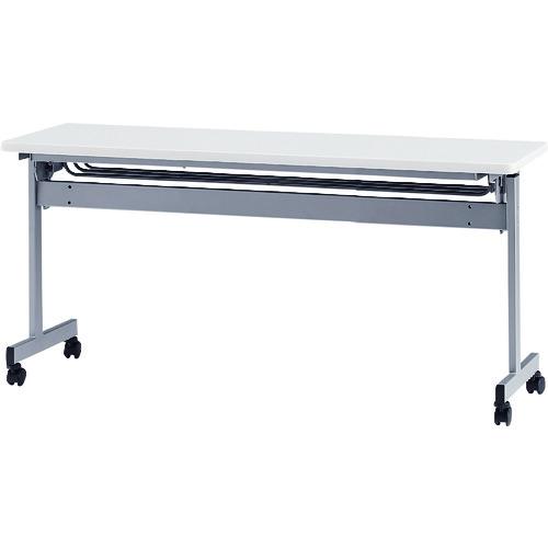 ■TOKIO 天板跳上式スタックテーブル(パネルなし) 天板色:ホワイト  〔品番:HSN-1545-W〕[TR-1395542]【大型・重量物・個人宅配送不可】