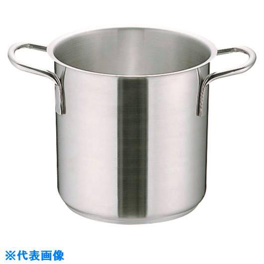 ■TKG ムラノ インダクション18-8寸胴鍋 (蓋無)28CM  〔品番:AZV7704〕[TR-1395870]