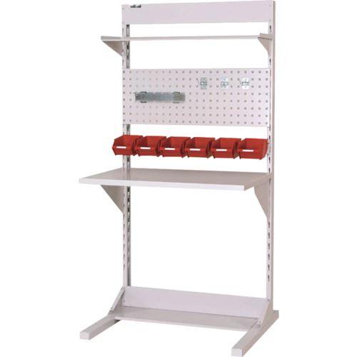 ■ヤマテック ラインテーブル 片面連結W900  〔品番:HRK-0918R-TPY〕[TR-1398802]【大型・重量物・個人宅配送不可】