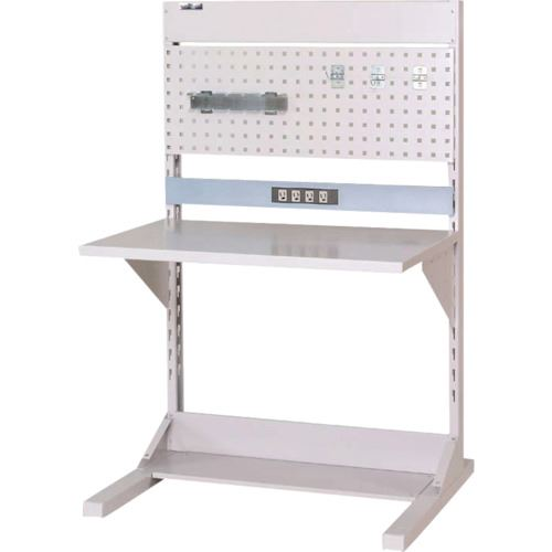 ■ヤマテック ラインテーブル 片面連結W900〔品番:HRK-0913R-PC〕[TR-1398954]【個人宅配送不可】