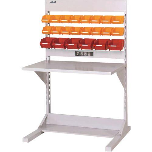 ■ヤマテック ラインテーブル 両面単体W900  〔品番:HRR-0913-YC〕[TR-1399168]【大型・重量物・個人宅配送不可】