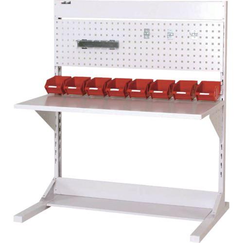 ■ヤマテック ラインテーブル 両面単体W1200  〔品番:HRR-1213-PY〕[TR-1399463]【大型・重量物・個人宅配送不可】