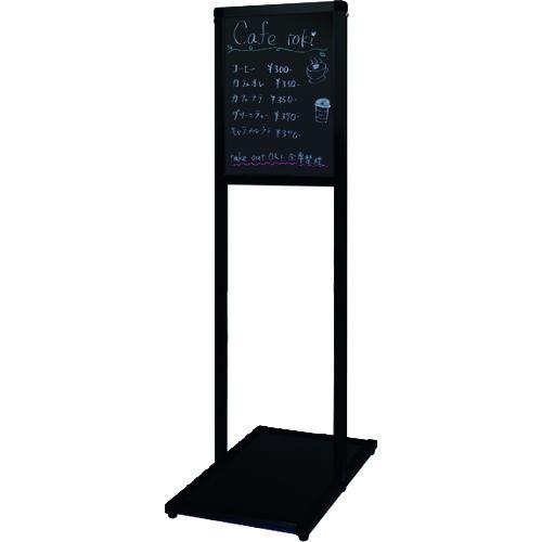 ■TOKISEI ブラックバリウスメッセージスタンド ブラックボードタイプ B4縦  〔品番:BVAMSBBB4T〕[TR-1429178]【大型・重量物・個人宅配送不可】