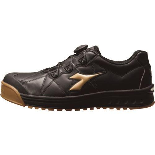 ■タスコ 安全作業靴 28.0CM ブラック・ゴールド〔品番:TA963AG-28.0〕[TR-1431013]【個人宅配送不可】