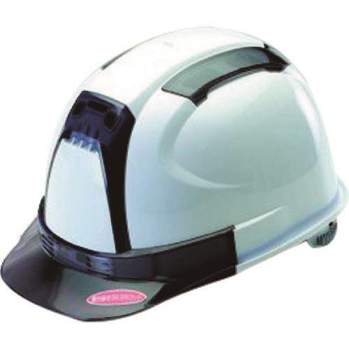 ■タスコ ヒサシ透明ヘルメット《2個入》〔品番:TA962AY-1〕[TR-1432541×2]