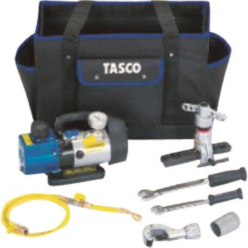 【上品】 ?タスコ エアコン工具セット〔品番:TA21BB〕[TR-1433779]:ファーストFACTORY-DIY・工具