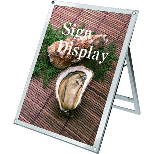 ■TOKISEI ポスター用スタンド看板 B1ロウ片面ホワイト〔品番:PSSKB1LKW〕[TR-1435660 ]【送料別途お見積り】