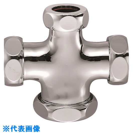 ■SANEI 洗浄管連結異径クロス  〔品番:H80-44-16X25X25X32〕[TR-1438706]