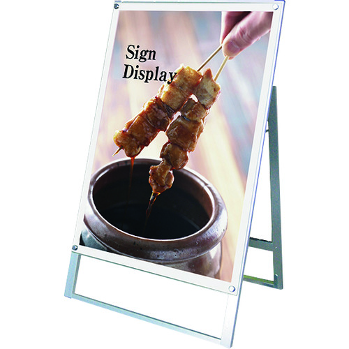 ■TOKISEI ポスター用スタンド看板 B1片面ホワイト〔品番:PSSKB1KW〕[TR-1438813 ]【送料別途お見積り】