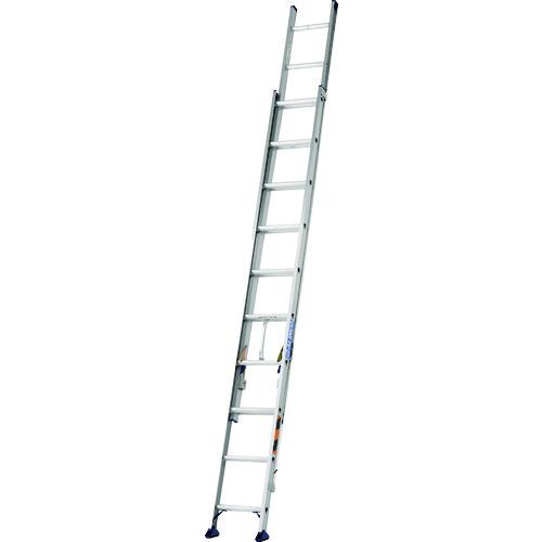 ■アルインコ 二連梯子 5.2M 最大使用質量100KG〔品番:JXV52DF〕[TR-1440486]【大型・重量物・個人宅配送不可】