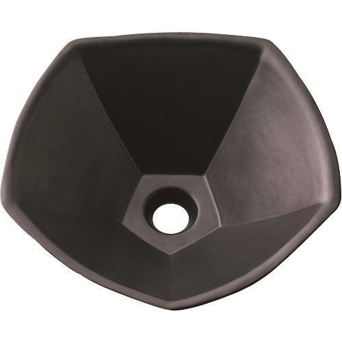 ■SANEI 洗面器 信楽焼 黒  〔品番:HW10220-D〕[TR-1441877]