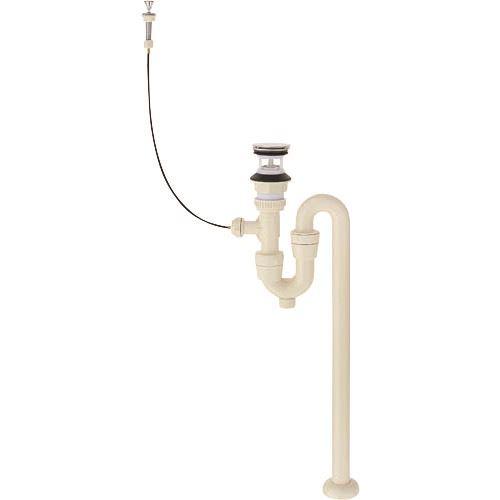 ■SANEI 洗面排水栓付Sトラップ  〔品番:H7722-38〕[TR-1446520]