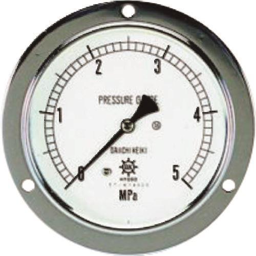 ■タスコ 圧力計(1/4″フレア、後ろ出し、60Φ、つば付)《2個入》〔品番:TA149F-135〕直送[TR-1447915×2]