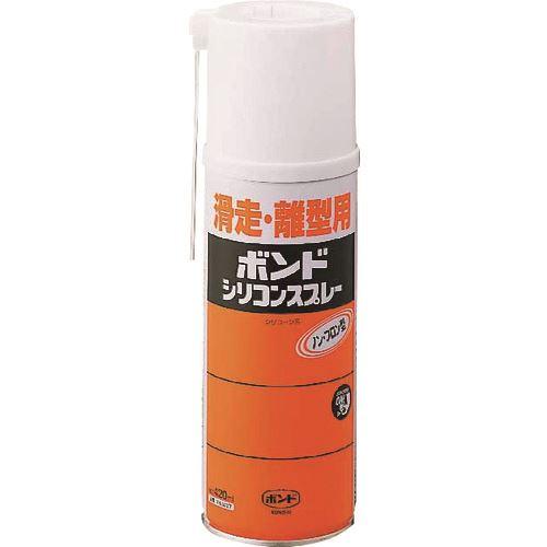 ■コニシ シリコンスプレー 420ML(エアゾール缶) #63227 10本入 〔品番:63227〕[TR-1448415×10]