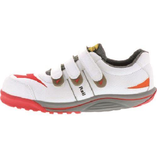■タスコ 安全作業靴 25.5CM 白〔品番:TA963SA-25.5〕[TR-1453004]【個人宅配送不可】