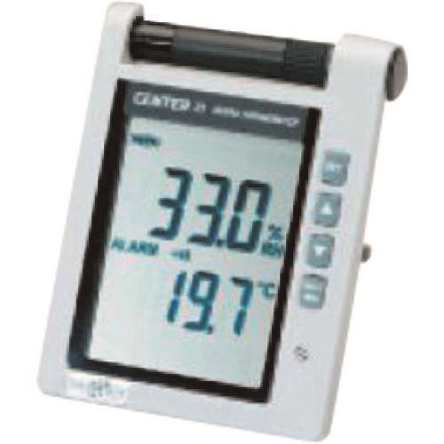 (株)イチネンTASCO 温湿度計  ■タスコ 温湿度表示器〔品番:TA408CE〕[TR-1454718]