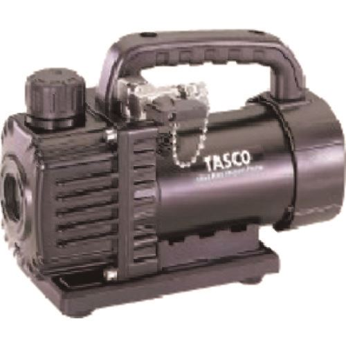■タスコ オイル逆流防止弁付 ウルトラミニシングルテージ真空ポンプ〔品番:TA150SV〕[TR-1456712]