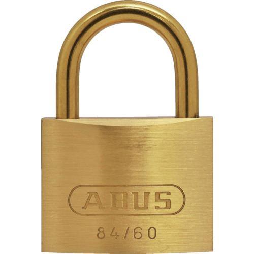 ■ABUS 真鍮南京錠 84MB-60 (ブリスターパック) 5個入 〔品番:BP84MB-60〕[TR-1457980×5]