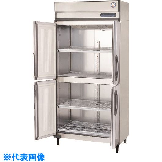 ■福島工業 業務用タテ型冷蔵庫〔品番:URD-60RM1〕[TR-1460550]【個人宅配送不可】