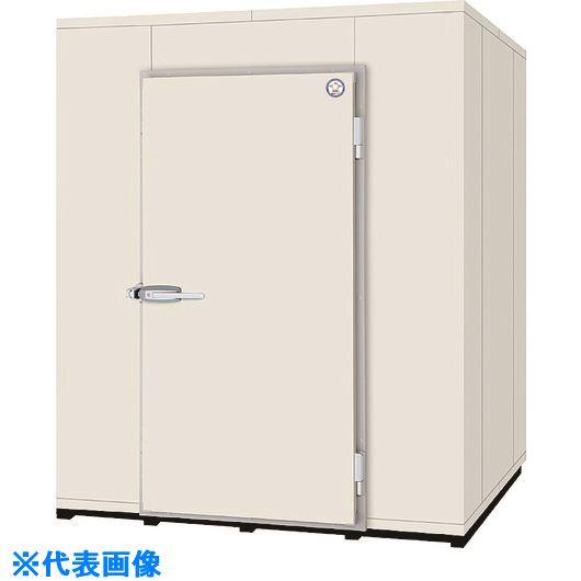 ■福島工業 プレハブ型冷蔵庫〔品番:P15R〕[TR-1460557]【個人宅配送不可】