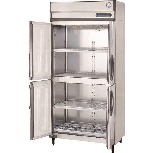 ■福島工業 業務用タテ型冷蔵庫〔品番:URD-90RM3-F〕[TR-1460582]【個人宅配送不可】