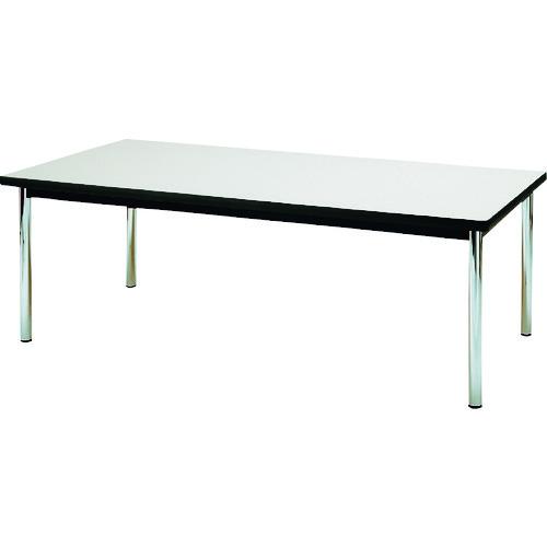 ■TOKIO 会議テーブル 2100×1050mm ネオグレー〔品番:EX-2105〕[TR-1461374 ]【送料別途お見積り】