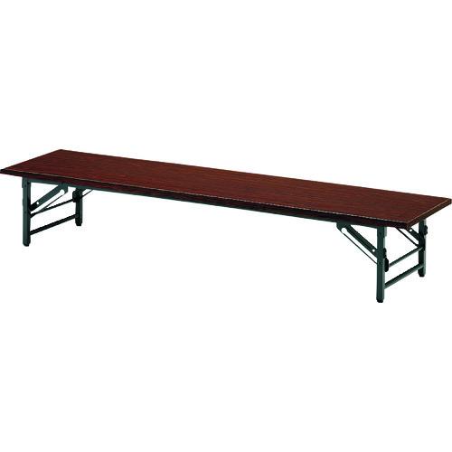 ■TOKIO 折りたたみ座卓テーブル 1200×900mm ローズ〔品番:TZ-1290〕[TR-1462939 ]【送料別途お見積り】