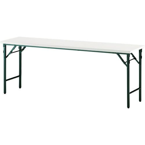 ■TOKIO 折りたたみテーブル 900×450mm アイボリー〔品番:TW-0945TN〕[TR-1462954 ]【送料別途お見積り】