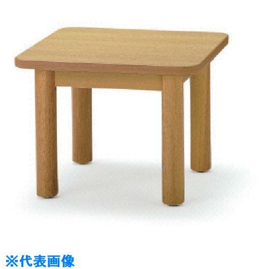 ■TOKIO サイドテーブル 600×600MM 木目  〔品番:FKT-66〕外直送[TR-1463115]【送料別途お見積り】