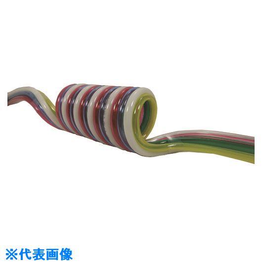 ■チヨダ 耐水性マルチスパイラル 6mm/使用範囲1375mm〔品番:6-MES-6-20S〕[TR-1463760]
