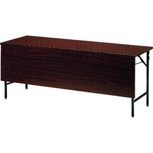 ■TOKIO 折りたたみテーブル パネル付 1500×450mm ローズ〔品番:TW-1545PTN〕[TR-1464505 ]【送料別途お見積り】