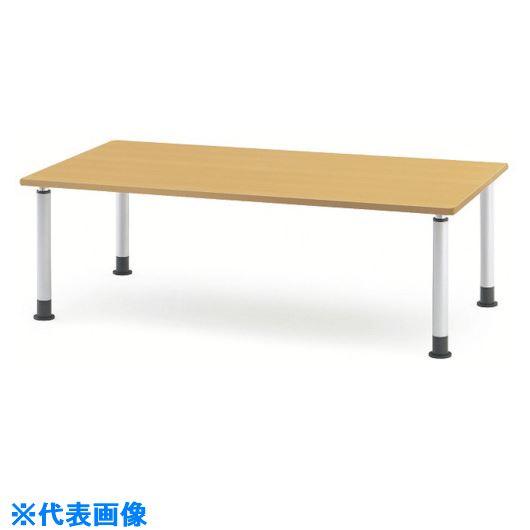 ■TOKIO ダイニングテーブル アジャスタータイプ 1800X900 メープル〔品番:MKT-1890〕[TR-1464562 ]【送料別途お見積り】