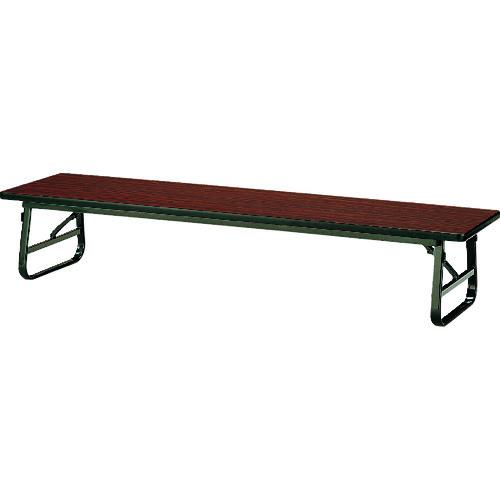 ■TOKIO 折りたたみ座卓テーブル 1500×450mm ローズ〔品番:TUS-1545〕[TR-1464575 ]【送料別途お見積り】
