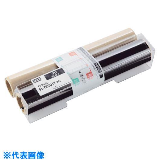 ■MAX ビーポップ CPM-200用 詰替えインクリボン 赤  〔品番:SL-TR203T〕[TR-1465305]
