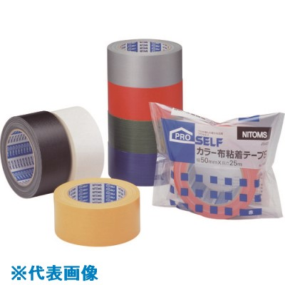 ■ニトムズ カラー布粘着テープS緑 30個入 〔品番:J5433〕[TR-1466257×30]
