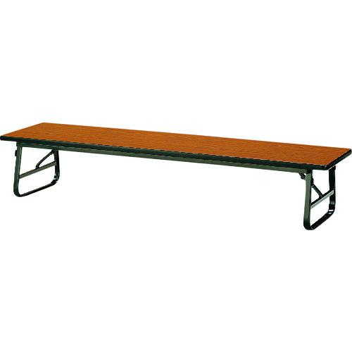■TOKIO 折りたたみ座卓テーブル 1500×450mm チーク〔品番:TUS-1545〕[TR-1467671 ]【送料別途お見積り】