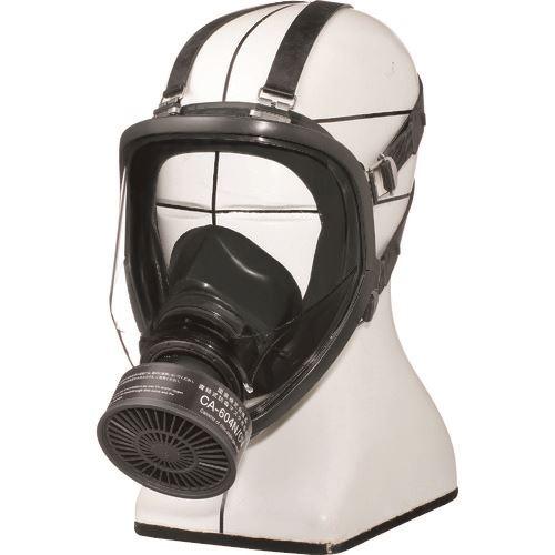 ■シゲマツ 防毒マスク 直結式 GM164-1(L)  〔品番:GM164-1-L〕[TR-1467828]