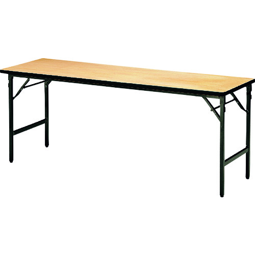 ■TOKIO 折りたたみテーブル 1800×450mm アイボリー〔品番:ATS-R1845〕[TR-1469338 ]【送料別途お見積り】