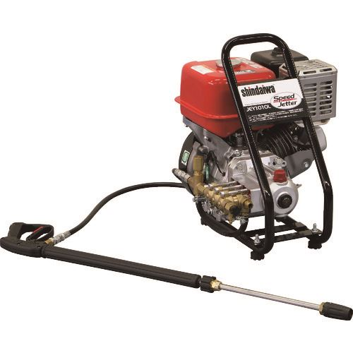 ■新ダイワ エンジン高圧洗浄機〔品番:JEY1010-L〕[TR-1469923]【個人宅配送不可】