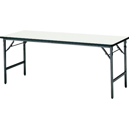 ■TOKIO 折りたたみテーブル 1800×600mm アイボリー〔品番:ATS-1860N〕[TR-1472481 ]【送料別途お見積り】