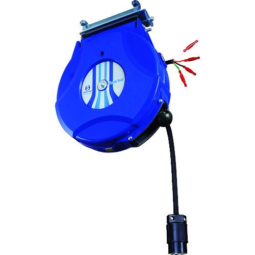 ■日平 200Vコンセントリール 引掛け式3P接地コンセント ブルー 2台入 〔品番:HEP-250L-BL〕外直送[TR-1473295×2]